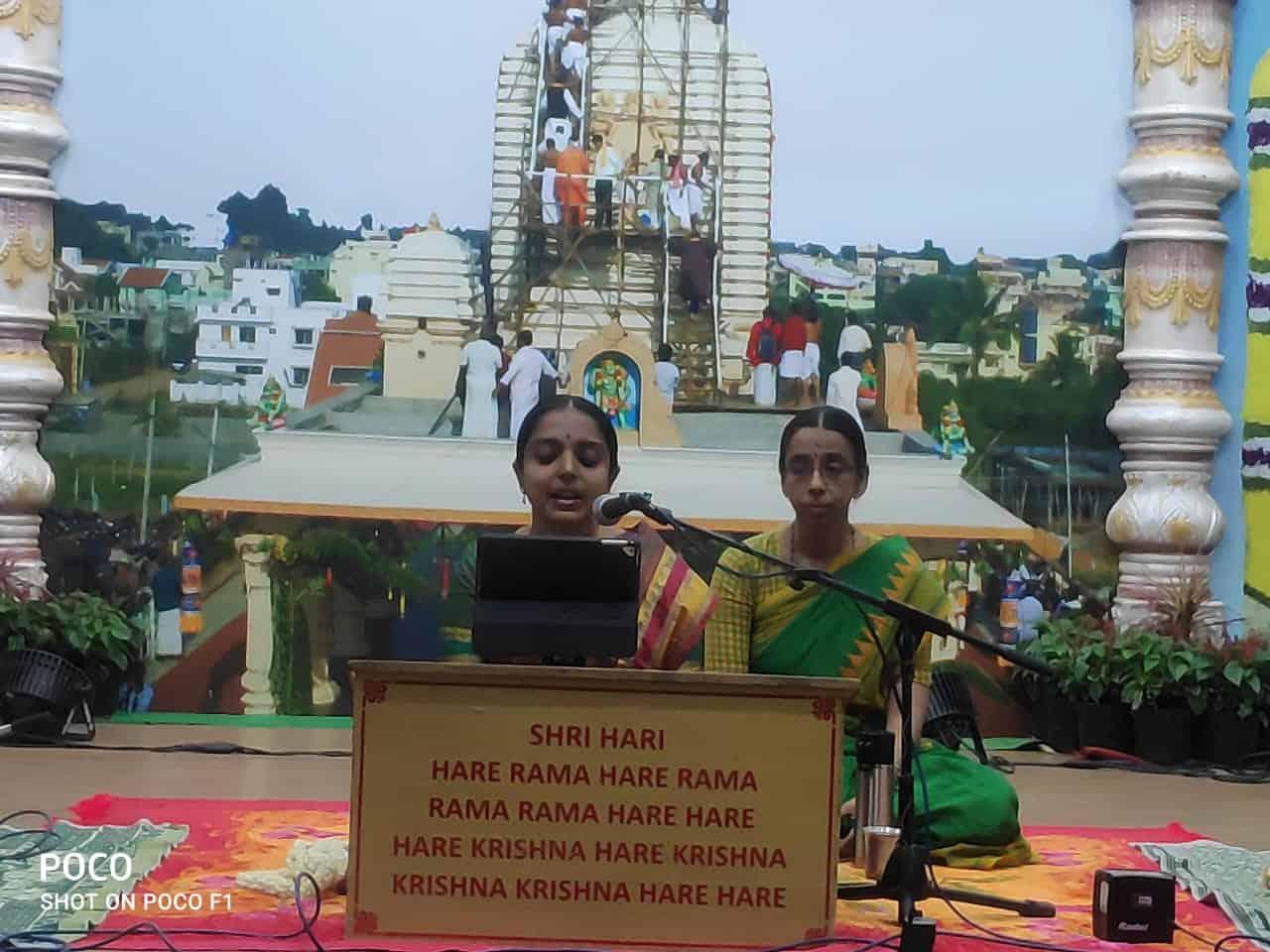 Lecture by Sri Vishnupriyaji
